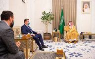 نشست محرمانه بن سلمان با رئیس کمیته بینالملل دومای روسیه