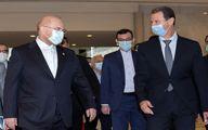 اسد در دیدار قالیباف: ایران شریک اصلی سوریه است