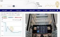 کاهش 3944 واحد شاخص بورس تهران