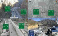 وضعیت راههای کشور در نوروز/ترافیک سنگین در محور چالوس