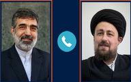 احوالپرسی تلفنی سیدحسن خمینی از کمالوندی