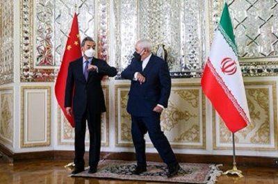 تصویر خاص از دیدار ظریف و وزیر خارجه جین