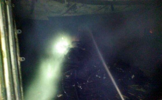 دستگیری یک نفر درحین فرار از محل آتشسوزی مرگبار یک کارگاه