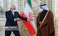 تصاویر: وزیر خارجه قطر در تهران