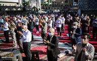 تصاویر: نماز عید فطر در امامزاده صالح (ع) تهران