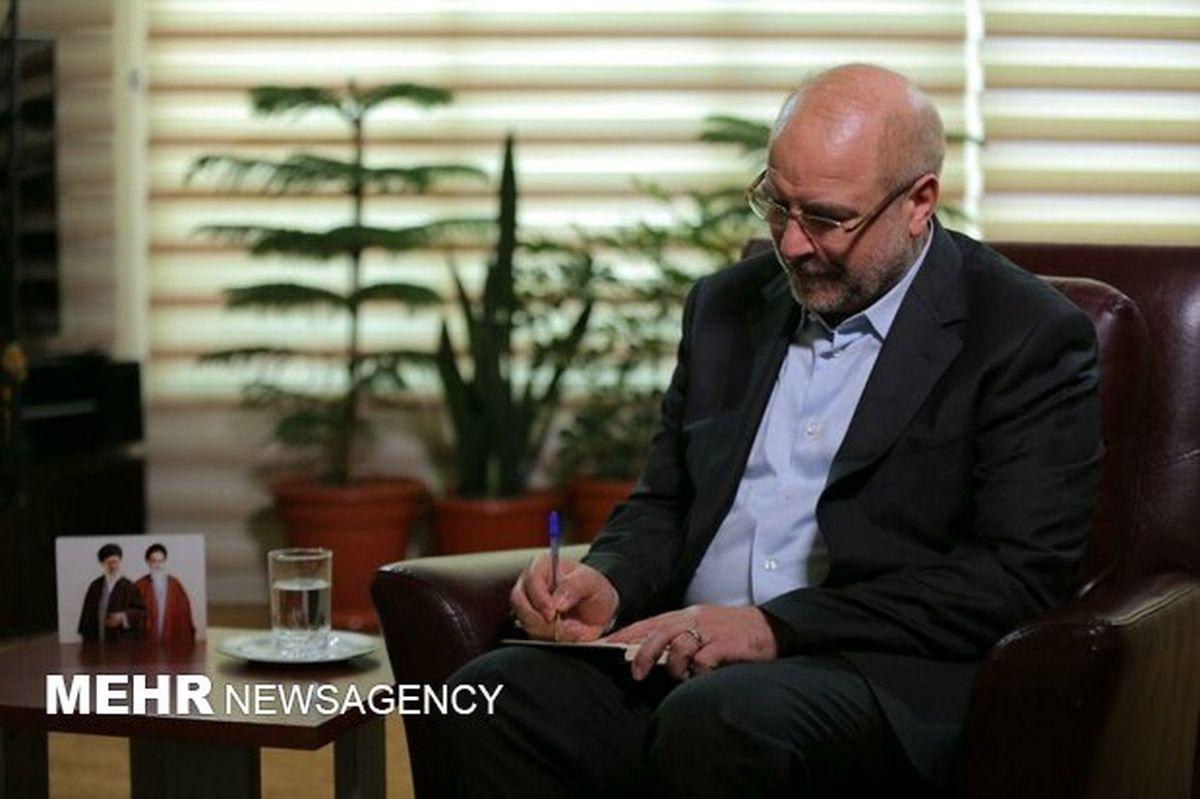 دستور قالیباف  درپی حادثه واژگونی اتوبوس حامل خبرنگاران