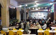 وضعیت یک رستوران در کیش در شرایط کرونایی +عکس