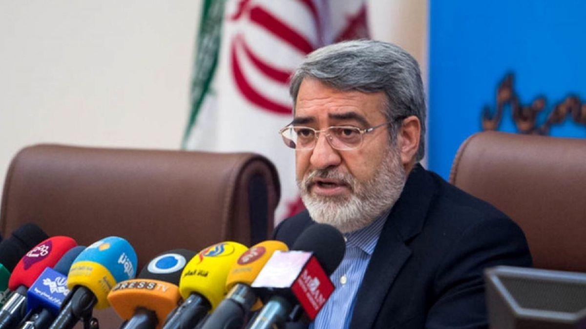وزیر کشور: نگرانی خاصی در حوزه انتخابات نداریم