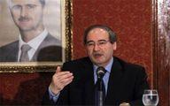 انگلیس وزیر خارجه سوریه را تحریم کرد