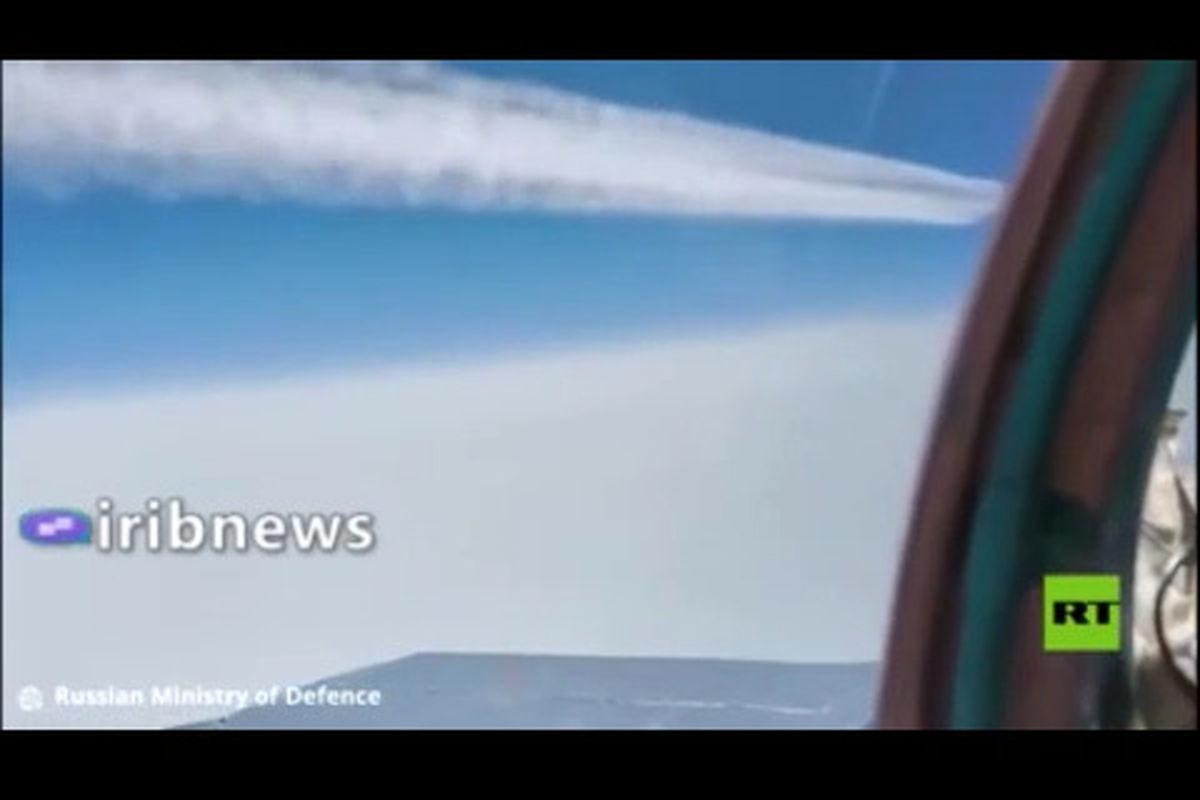 فرار هواپیمای جاسوسی آمریکا از دست میگ۳۱ روسیه