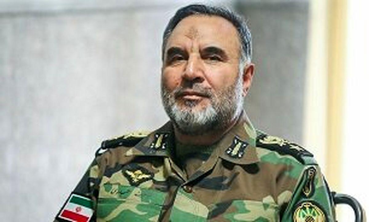 امیر حیدری:ارتش ایران یک ارتش مردمی است
