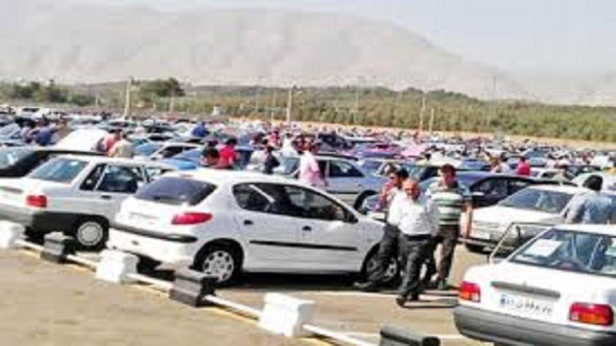 ریزش قیمت ها در بازار خودرو +قیمت ها