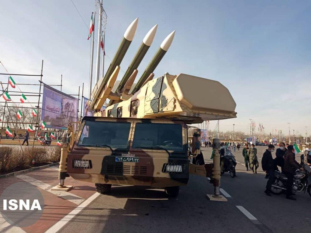 عکس: نمایش سامانه سوم خرداد در میدان آزادی