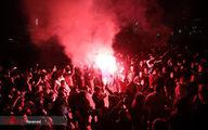 تصاویر: شورش در بلگراد صربستان