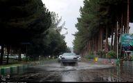 بارش برف و باران در جاده های ۷ استان