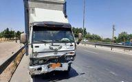 تصاویر: تصادف وحشتناک پژو پارس با کامیونت در جنوب تهران