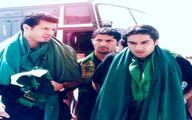 تصویری از سفر مرحوم میناوند به کربلا در کنار علی دایی