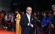 کارگردان ایرانی روی فرش قرمز جشنواره ویتنامی +عکس