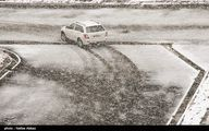 برف و باران در جاده های ۲۰ استان