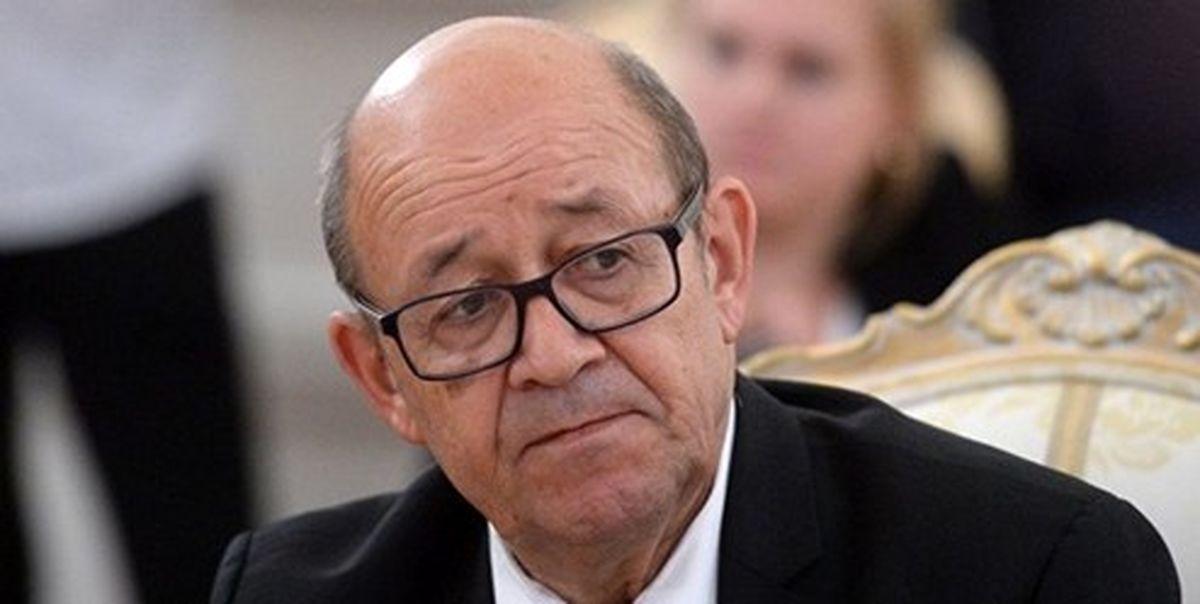 وزیر خارجه فرانسه: فشار ترامپ علیه ایران نتیجه نداد