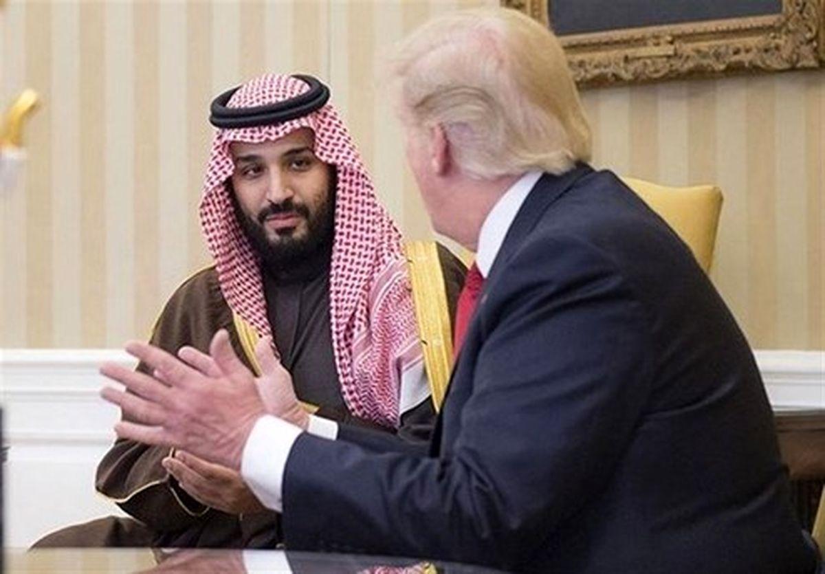 تماس تلفنی ترامپ با ولیعهد سعودی