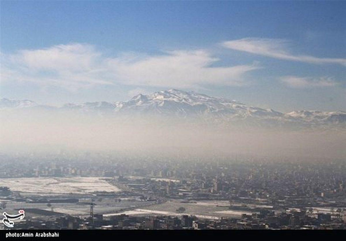 آلودگی هوا در ۵ کلانشهر بزرگ