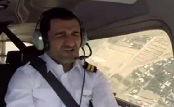 ماجرای خلبان شدن پژمان جمشیدی +عکس