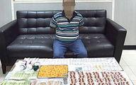 کشف ۳۰۰۰ قرص روانگردان از خانه مرد اماراتی +عکس