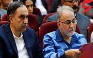 حضور نویسنده جنایی در کنار نجفی در دادگاه! +عکس