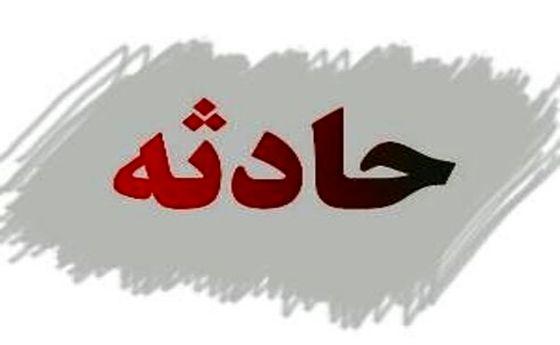 تصادف اتوبوس و کامیون در قزوین حادثه آفرید +فیلم