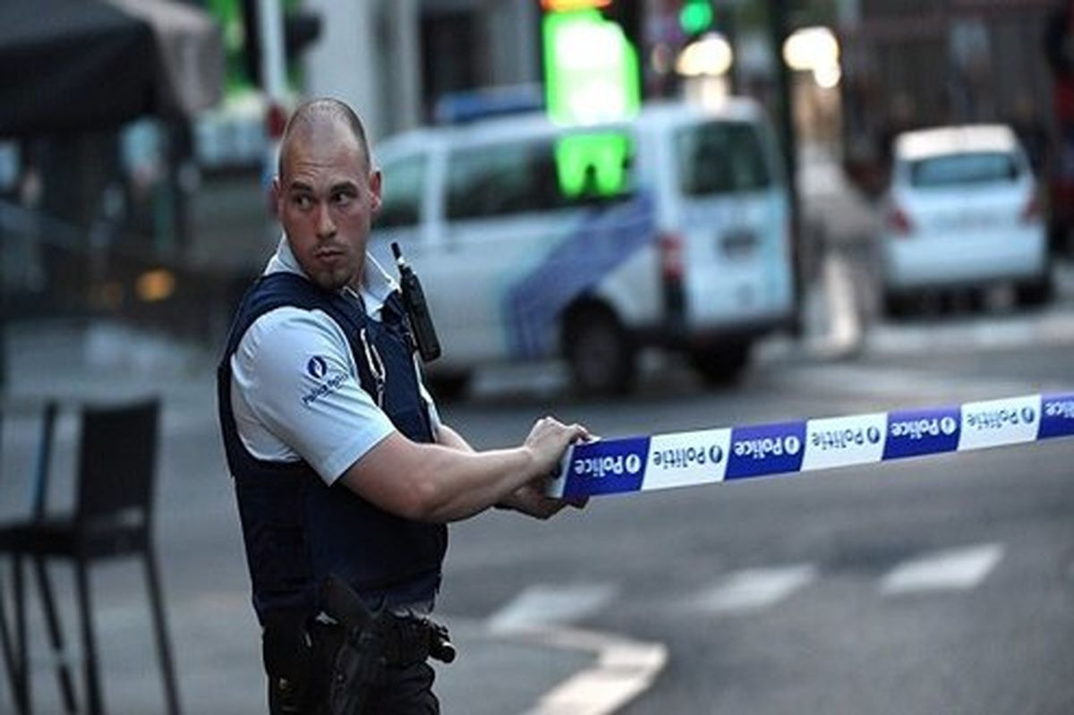 حمله با چاقو به سوی مسافران متروی بروکسل