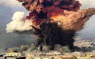 عکس باکیفیت از لحظه انفجار بیروت