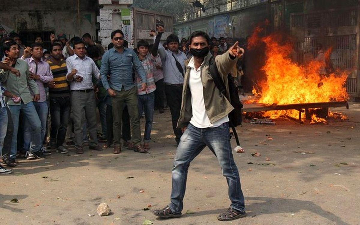 تظاهرات دانشجویی در بنگلادش