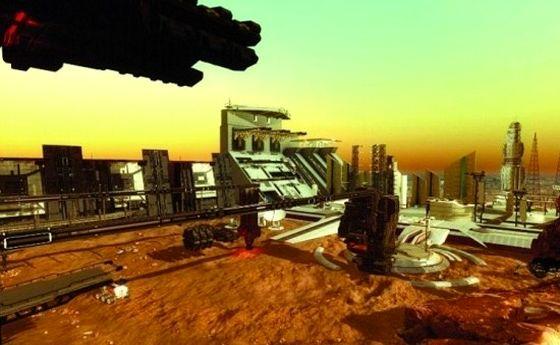 امارات بهدنبال ساخت اولین شهرک مسکونی در مریخ