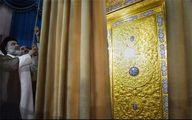 رونمایی از در سرداب مقدس امام زمان(عج) +تصاویر