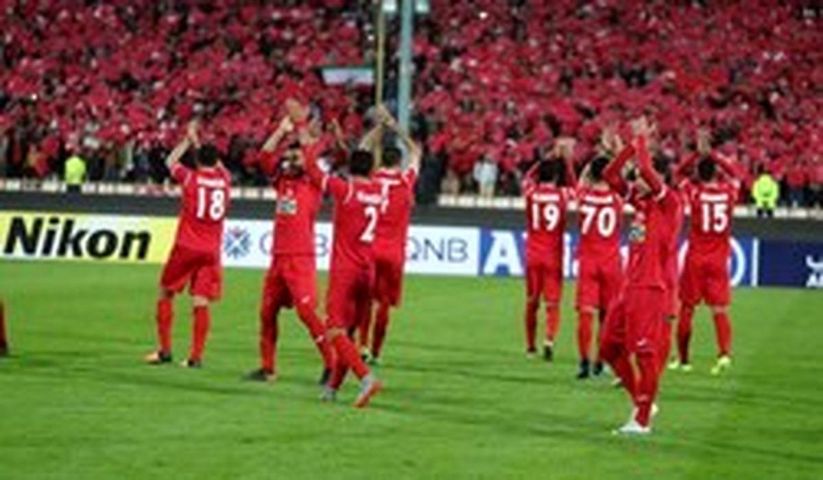 پرسپولیس با ۲۲ بازیکن به امارات میرود