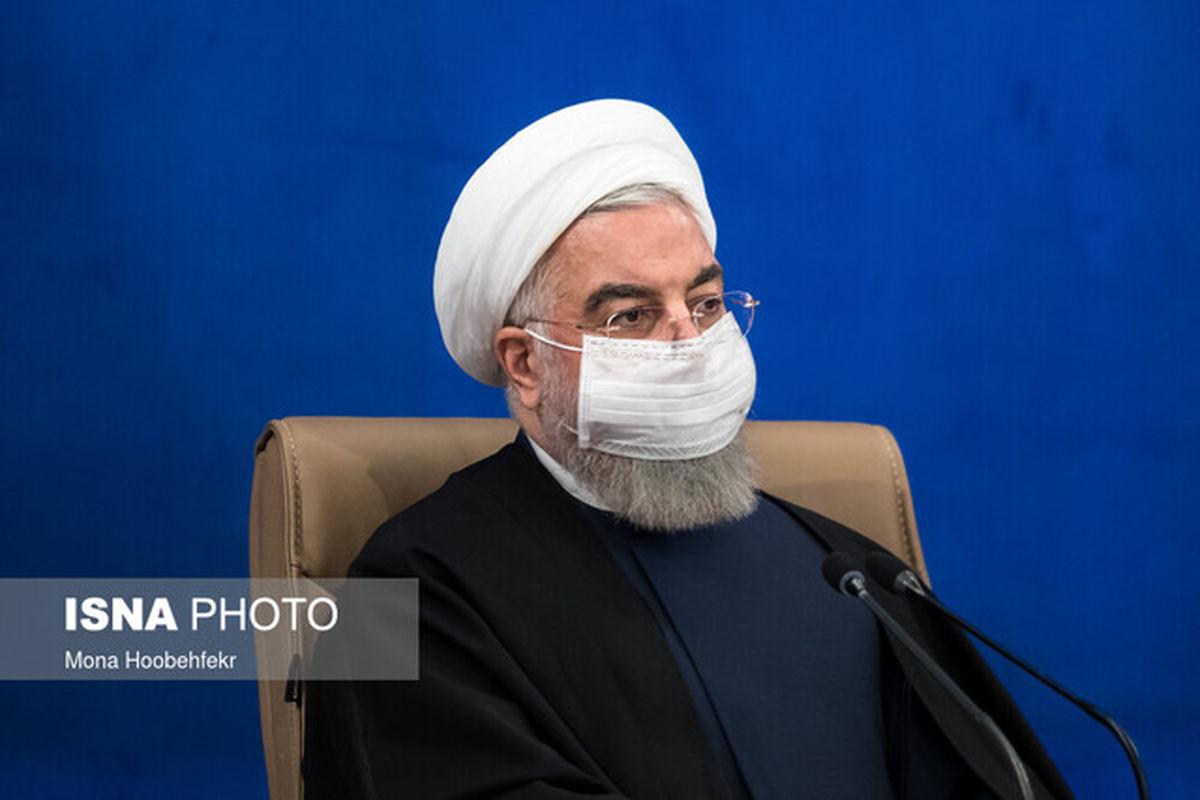 آغاز مراسم افتتاح طرحهای مهم ملی با حضور روحانی