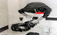 مسافرت مرد جنایتکار با جسد مقتول +تصاویر
