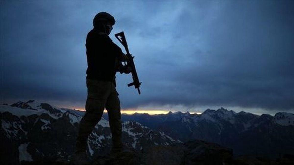 کشته شدن سرباز ترکیهای در شمال عراق